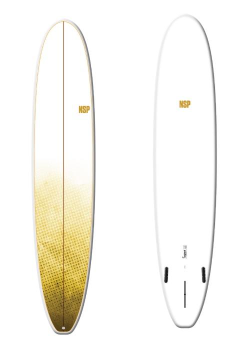 """9'6"""" NSP E+ longboard"""