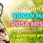 Oración a la madre de la esperanza.