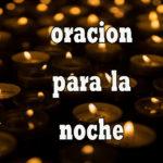 Oración para  la noche del domingo 31-1-21