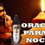 Oración para la noche  del domingo 22-8-21