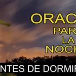 Oración para la noche del domingo 15-11-20