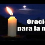 Oración para la noche del sábado 5-12-20
