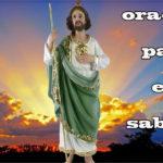 Oración para el sábado 15 de mayo