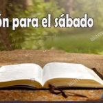 Oración para el sábado 19