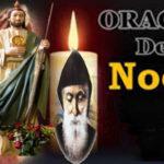 Oración para la noche del  sabado 16-10-21