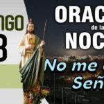 oracion para la noche del domingo 28-3-21