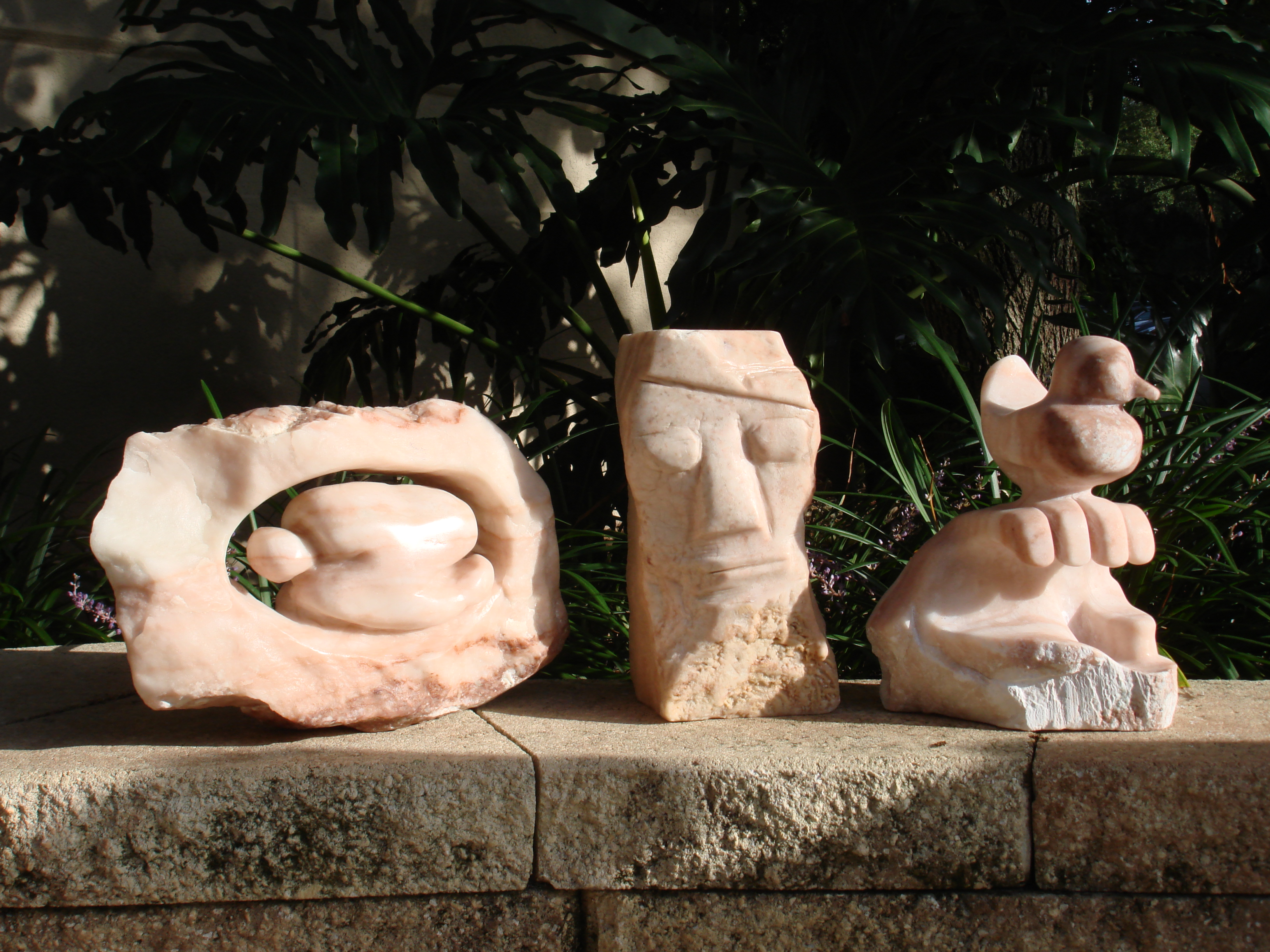LEWIS & LITA & KAT's SCULPTURES on JULY 1st, 2015 003