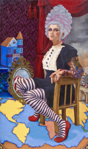 """Untitled, 2009, Portrait, oil on canvas, 60 x 36"""""""