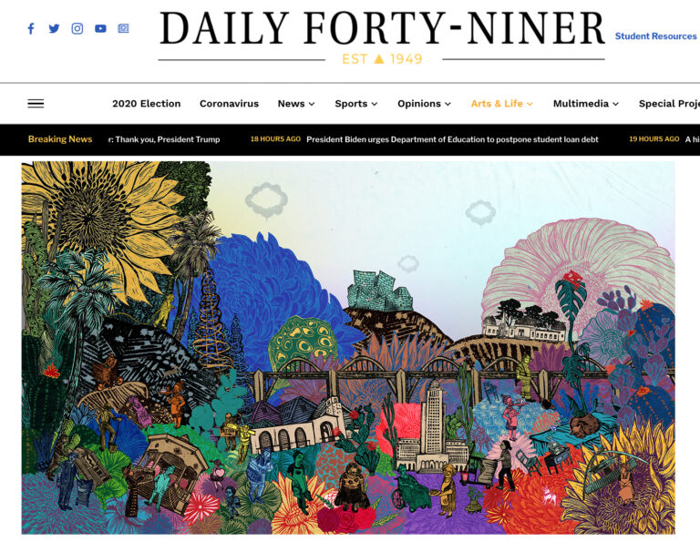 Daily Forty-Niner Art and Culture