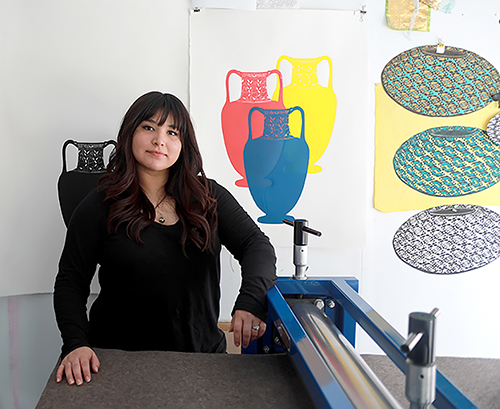Stephanie Mercado Portrait LA Artist