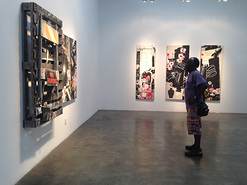 Raymond Saunders Exhibition 2015
