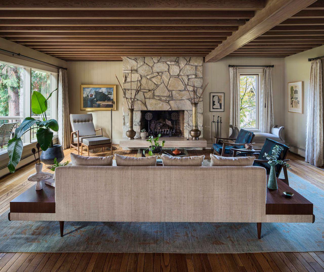 Remodeled midcentury modern returns to architect John Storrs' original vision