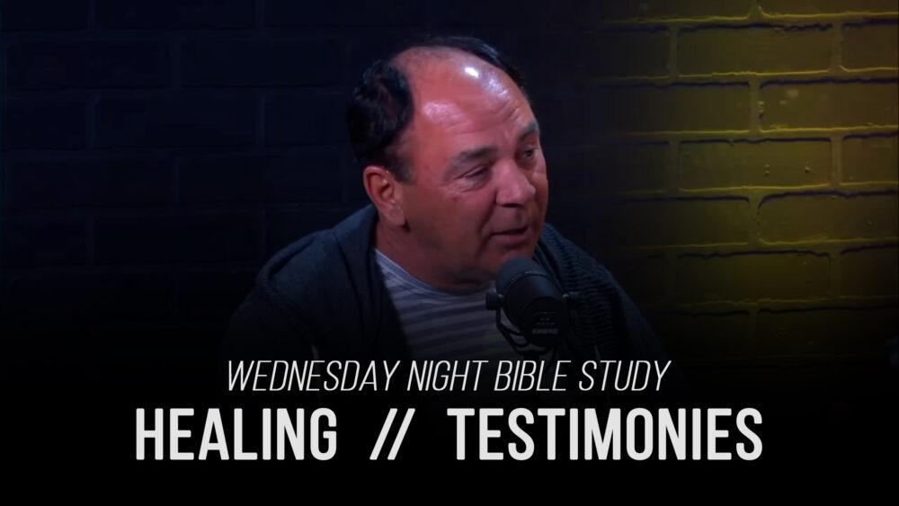 Healing - Part 6 - Testimonies Image