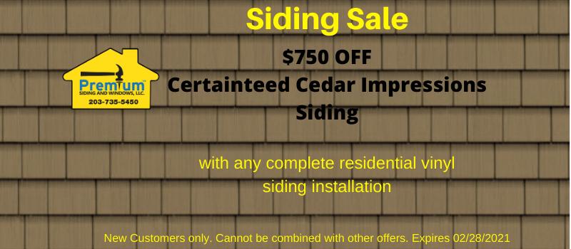 Feb 2021 Siding Sale Coupon