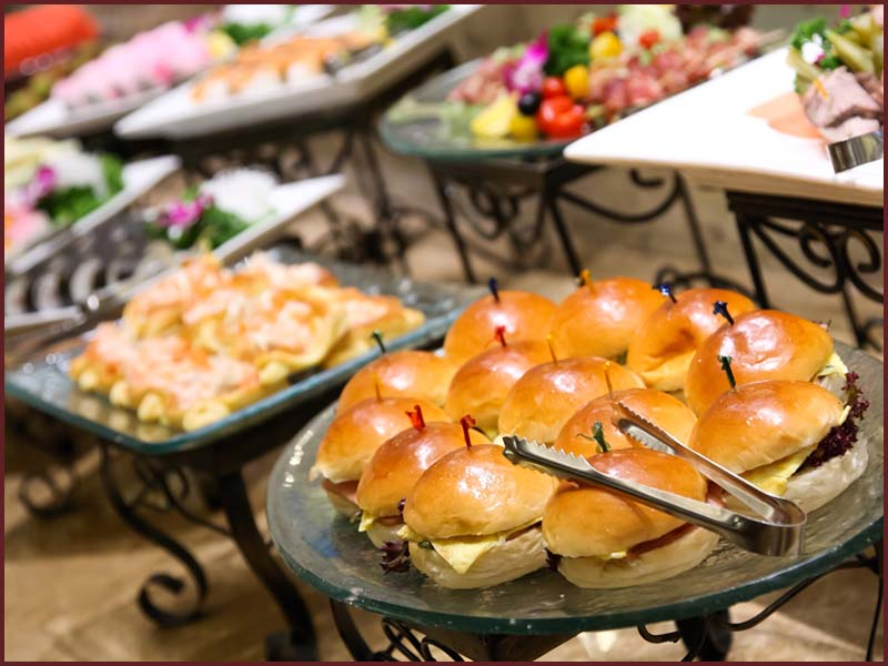 Eatible Delights Catering   World Meeting of Families   Buffet Options 4a