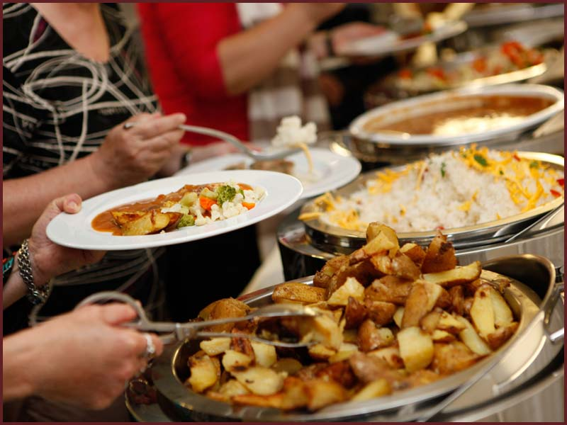 Eatible Delights Catering   World Meeting of Families   Buffet Options 4f
