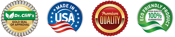 Dr Cliffs Premium Quality Approval Eco Made In USA Seals
