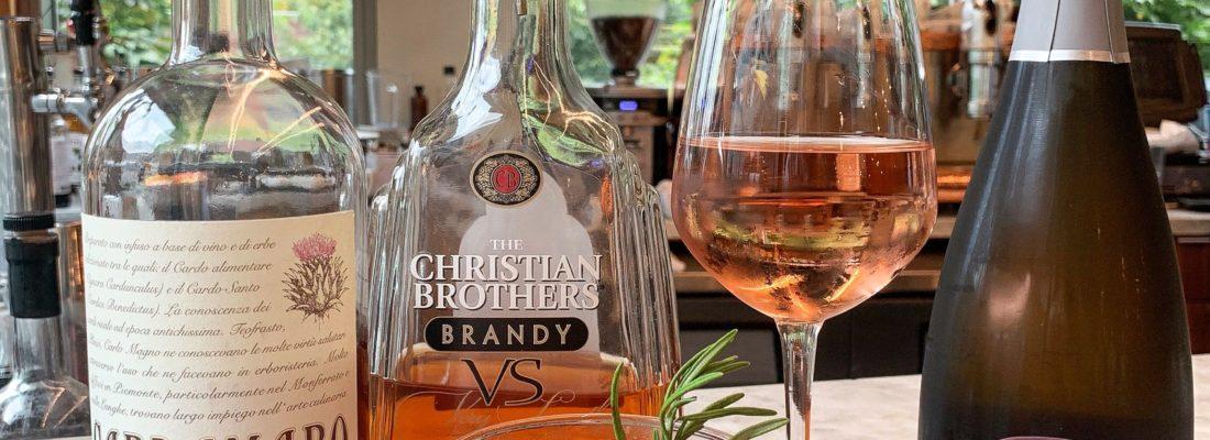 COCKTAIL AND WINE: IL PARADISO & SPARKLING ROSÉ COL DE' SALICI – VENETO