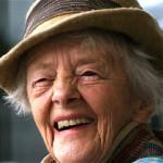 Smiling woman 50+