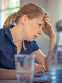 Stressed Caregiver