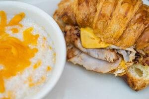 Stoby's Restaurant Croissant Breakfast