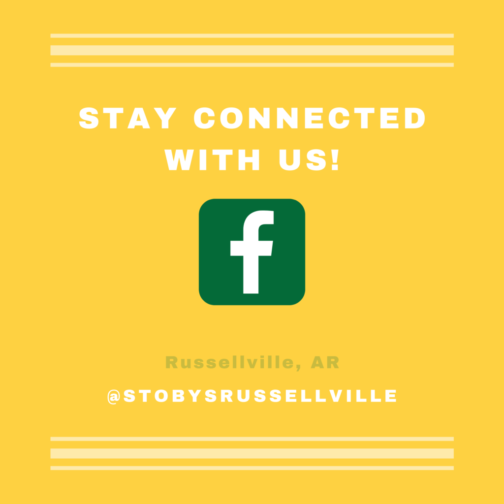 Stoby's Russellville Facebook page