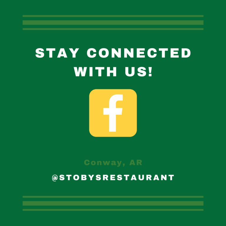 Welcome to Stoby's Conway Restaurant Facebook