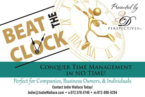 Beat the clock 2015 Time management