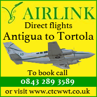 New Direct Charter Flights From Antigua - BVI Bookable Now