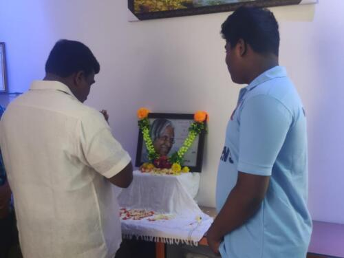 Dr.A.P.J.Abdhul Kalam Birthday Celebration Program
