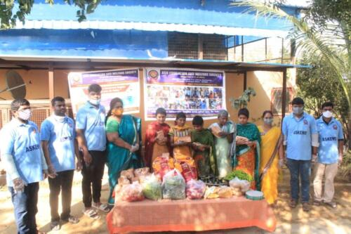 Donation of Food Items - PALLAVI ASRAMAM