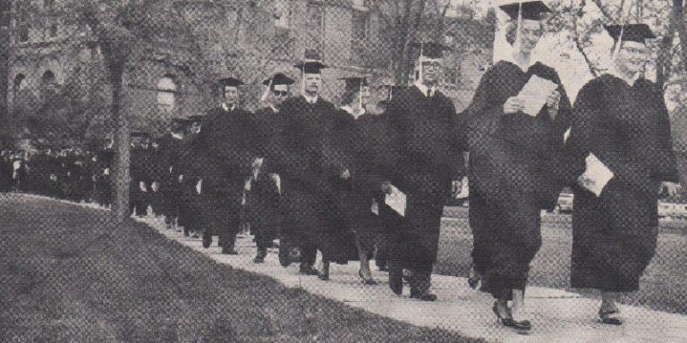 1963 Graduation