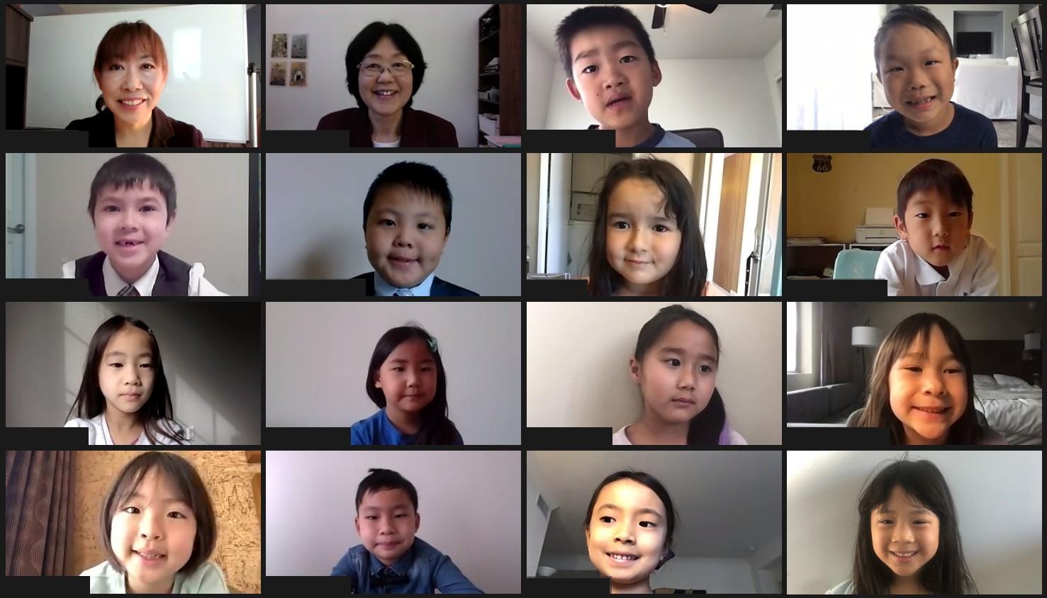 小1-2 入学クラス写真