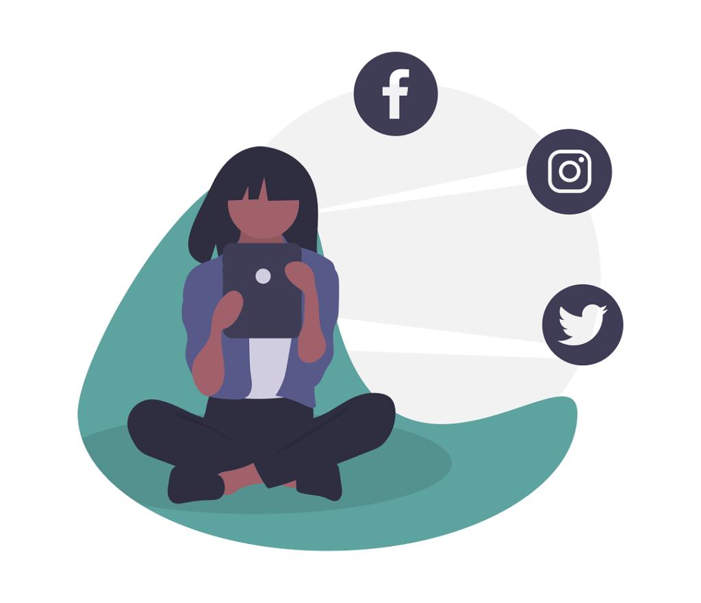 social_girl_illustration