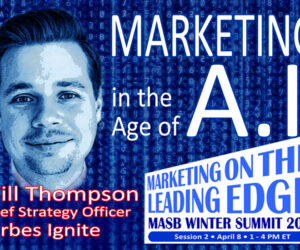 Thompson to Address Marketing in the Age of A.I.