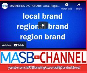 Video MARKETING TERM of the WEEK: Region or Regional?