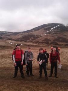 2012-04- DofE Expedition