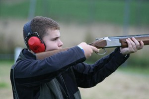 2012-08- Clay Pigeon Shooting