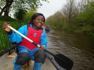 2014-03-DofE Canoeing Practice