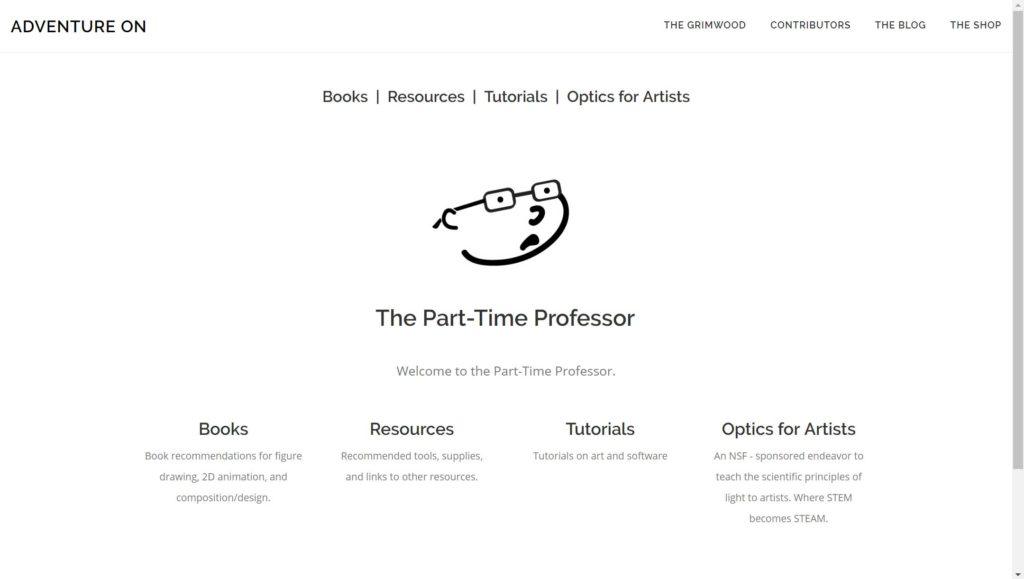 Part-Time Professor Home Page