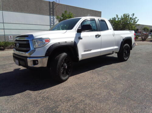 2014 Toyota Tundra SR5 Double Cab 5.7L One Owner California Car 79K