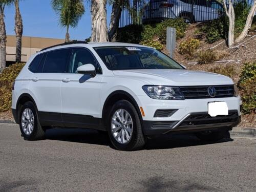 2019 VW Tiguan SE Leather One Owner Clean Title California Car