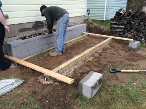 We built a floor