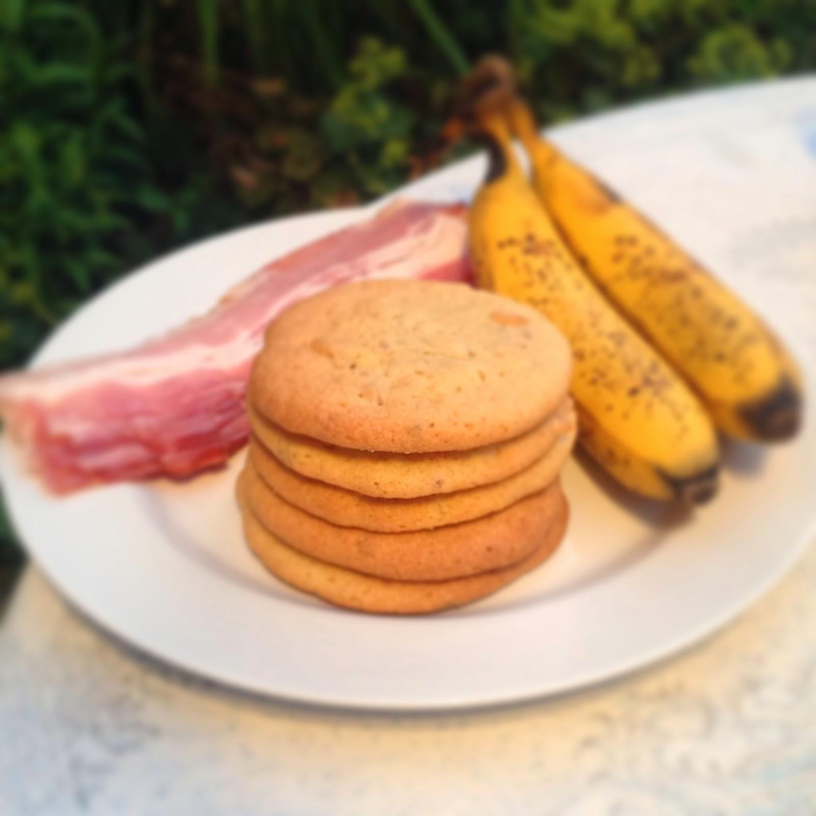 Bacon and Banana Cookies
