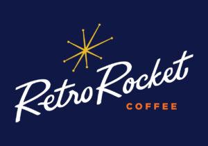 RetroRocket Coffee Logo