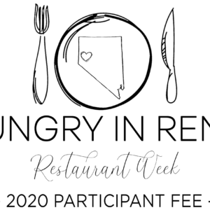 Hungry in Reno Restaurant Week Participation Fee Graphic