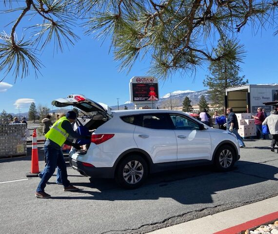 Grand Sierra Resort and Casino hosts Food Bank of Northern Nevada Mobile Harvest