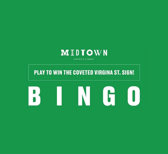The Reno Midtown District Launches Bingo Game to Support Local Businesses