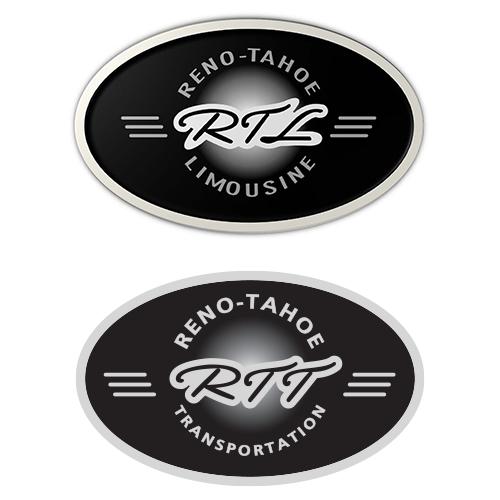 Reno Tahoe Limousine & Reno Tahoe Transportation logos