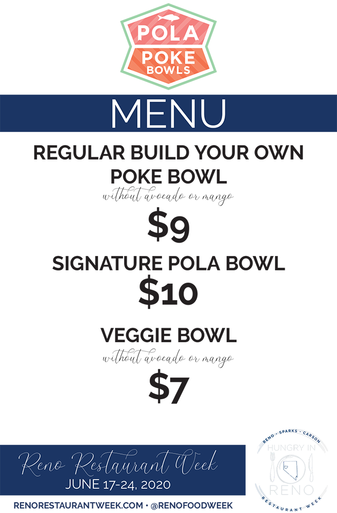 Pola Poke menu